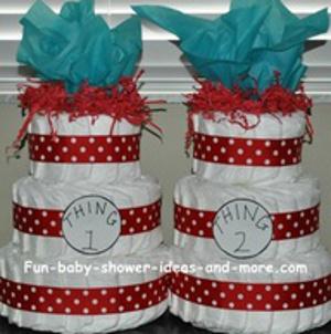 tematicas de baby shower de gemelos