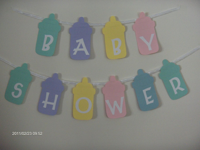 Decora Con Biberones Tu Baby Shower Lacelebracion Com