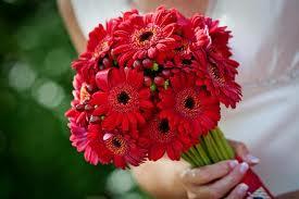 bouquet con bayas