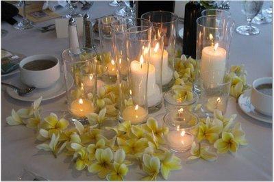 Decoraciones sencillas para mesas de bodas for Decoracion de bodas sencillas