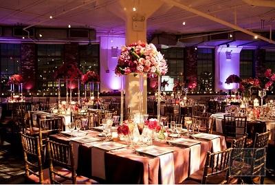 centros de mesa en acrilico para bodas la caleñita