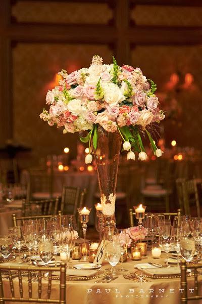 Centros de mesa para bodas cali archivos directorio de for Mesa cristal y dorado