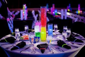 centros de mesa con perlas de agua la caleñita colombia