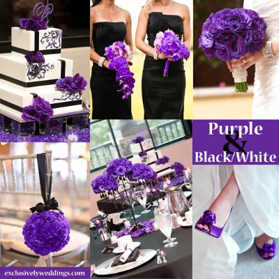 bodas blanco y negro con acentos de colores indigo bodas y eventos cali