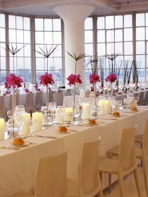 decoracion de mesas de recepcion de bodas caminos de mesa de espejo