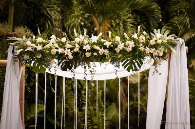 Decora el altar de tu boda al aire libre directorio de for Decoracion casa judia