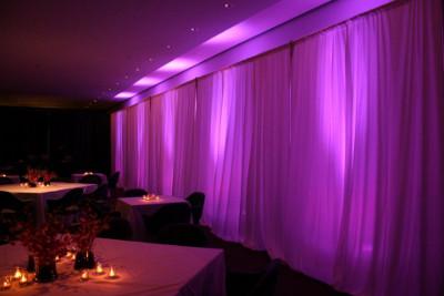 Decoracion de bodas con iluminacion archivos directorio - Iluminacion led salon ...