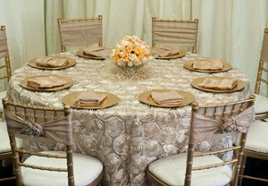 Manteles con texturas directorio de bodas - Tipos de manteles ...