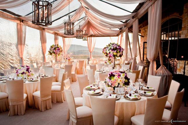 1000 Ideas About Gold Weddings On Pinterest: Decoración Con Colgaduras En Bodas.