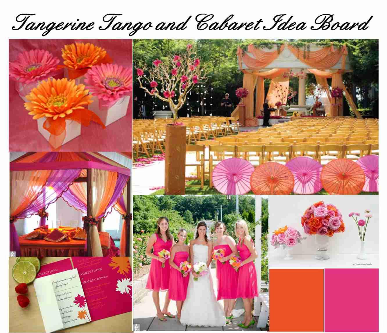 Colores para bodas 2012 - Mandarina decoracion ...
