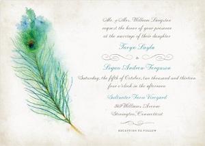 decoracion de bodas con los colores del pavo real