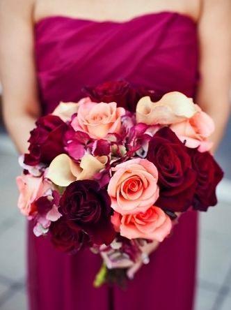 color marsala tendencias en bodas 2015 indigo bodas y eventos