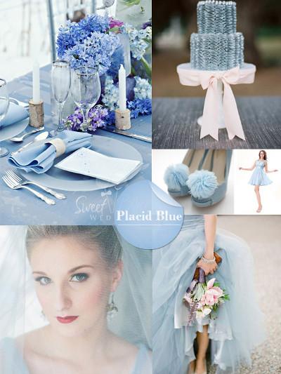 tendencias en colores para bodas primavera 2014 indigo bodas y eventos