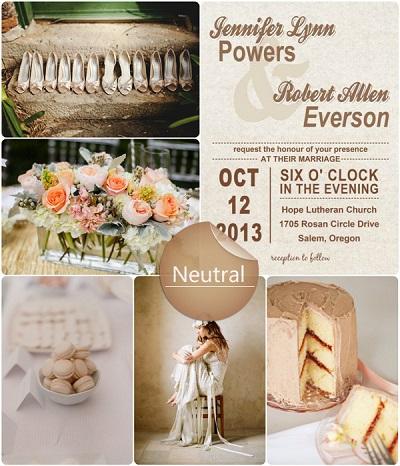 bodas colores neutros indigo bodas y eventos