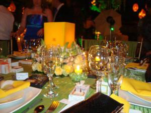 centros de mesa con velas para recepciones de bodas la caleñ cali
