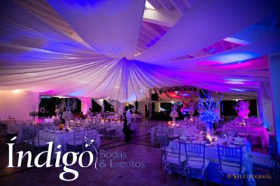 decoracion fiesta de 15 indigo bodas cali