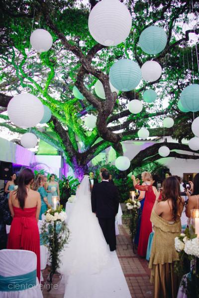 engalana tu boda con globos chinos - directorio de bodas