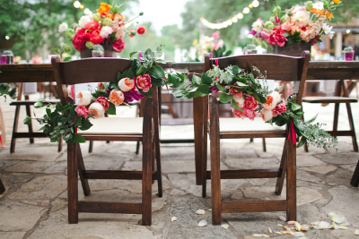 guirnaldas con flores tendencias en bodas 2014 la caleñita floristeria para bodas cali