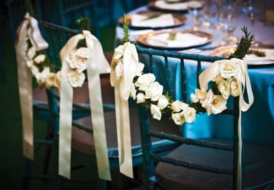 guirnaldas con flores tendencias en bodas 2014 floristeria fioribella cali