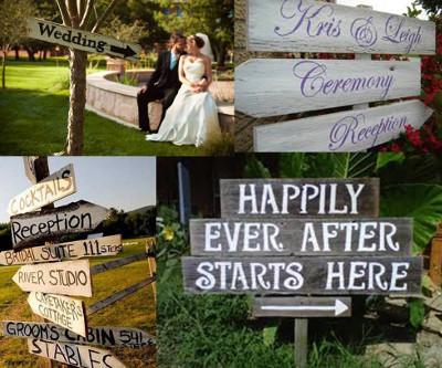 señalizacion de bodas