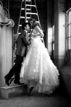 Fotos de bodas estilo revista de moda