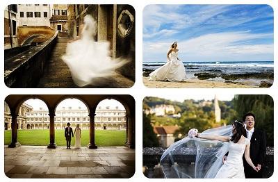 Fotos antes y despues de la boda