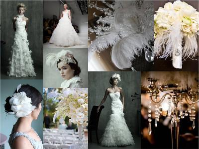 boda tematica con plumas tendencias 2015