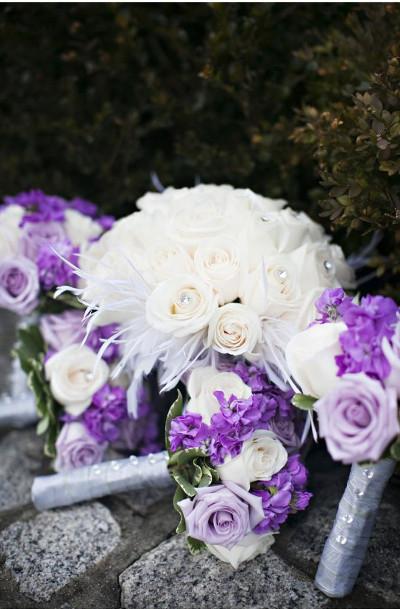 tematica con plumas bodas 2015