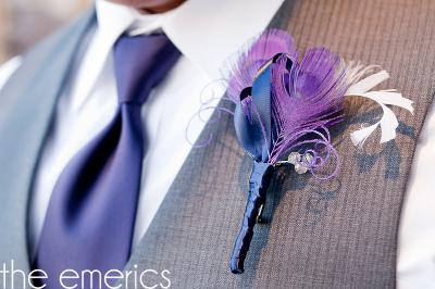 tematicas con plumas tendencias en bodas 2015