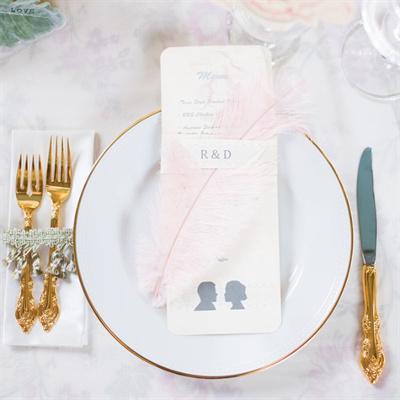 tematicas de bodas 2015 decoracion con plumas