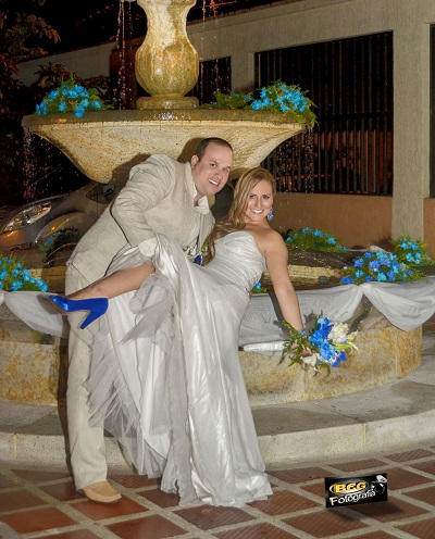 bodas de colores azules bcg fotografia bodas cali