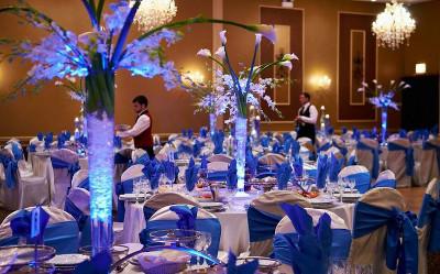 tendencias en bodas 2014 azul es el nuevo negro