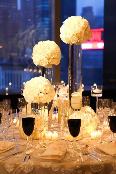 8 tendencias florales para bodas 2014 directorio de for Arreglos de mesa para boda en jardin