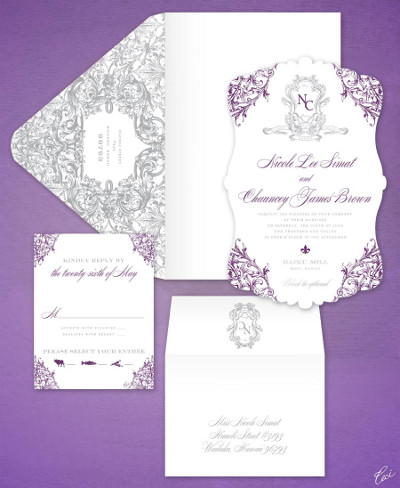 tendencia en invitaciones de bodas 2013