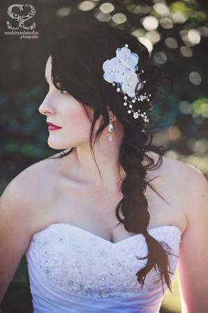 tendencia en bodas 2013 accesorios en joyeria para el pelo de las novias fabrijoyas