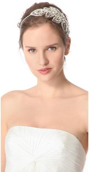 tendencia en bodas 2013 accesorios en joyeria para el pelo de las novias