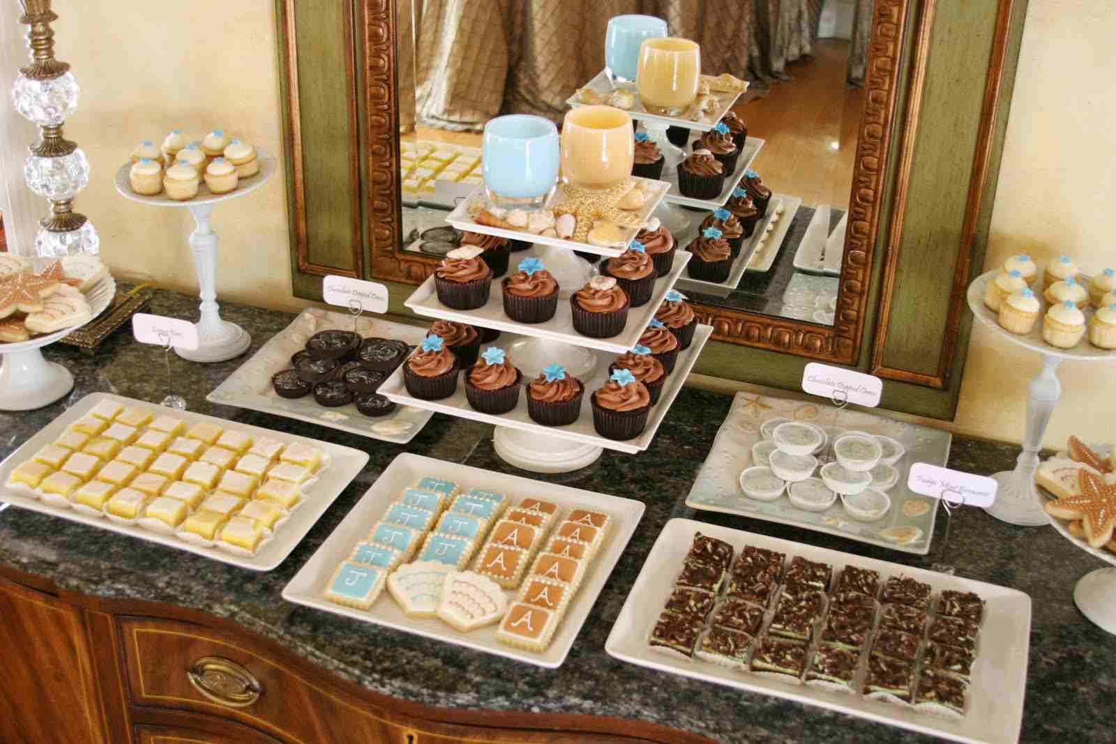 Ideas para mesas de postres directorio de bodas for Mesas dulces para bodas
