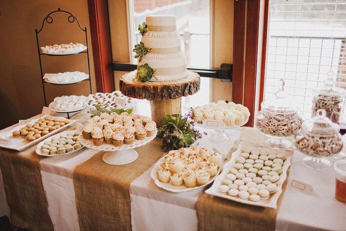 Tortas de bodas ideas de postres m s all de la torta de for Mesa de dulces para boda