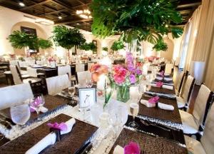 mesas largas para bodas decoradas