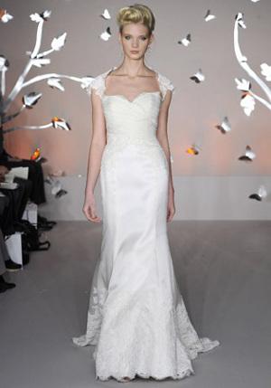 tendencia en vestidos de novia otoño: mangas casquillo - directorio