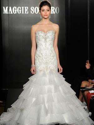 tendencia en vestidos de novia 2013