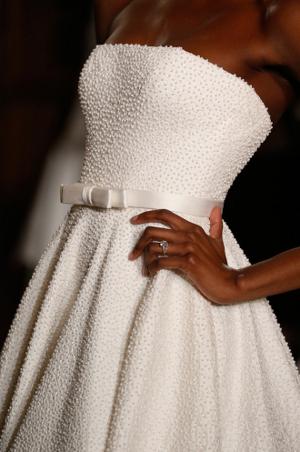 tendencias en vestidos de novia 2013 apliques perlas
