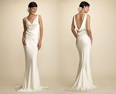 tendencias en vestidos de novia 2013 drapeado