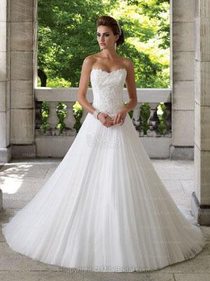 tendencias en vestidos de novia 2013 plisados