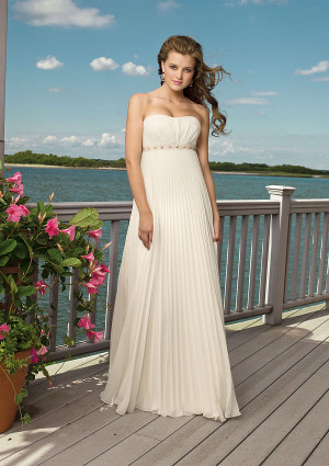 tendencias en vestidos de novia 2013 apliques plisados