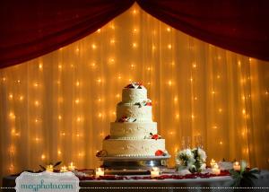 mesas de tortas de bodas iluminadas con luces de led ananda taller dulce cali