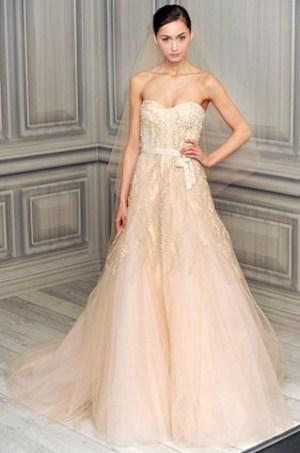 Vestidos de novia de princesas 2013