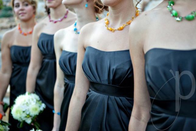 Vestidos damas de honor diferentes estilos