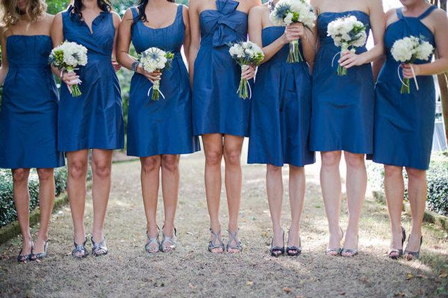 Vestidos de damas de honor diferentes estilos