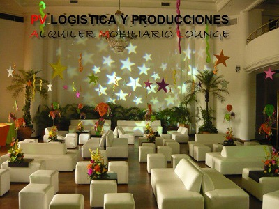 decoracion fiesta de 15 pv logistica